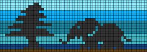 Alpha pattern #27326 variation #11084