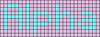 Alpha pattern #696 variation #11865