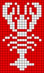 Alpha pattern #27653 variation #12280