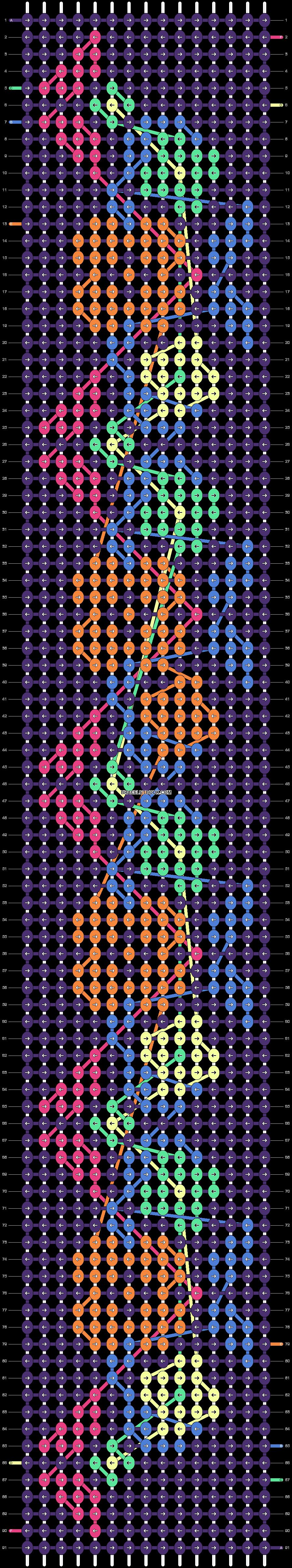 Alpha pattern #20932 variation #12351 pattern