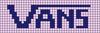 Alpha pattern #27652 variation #12403