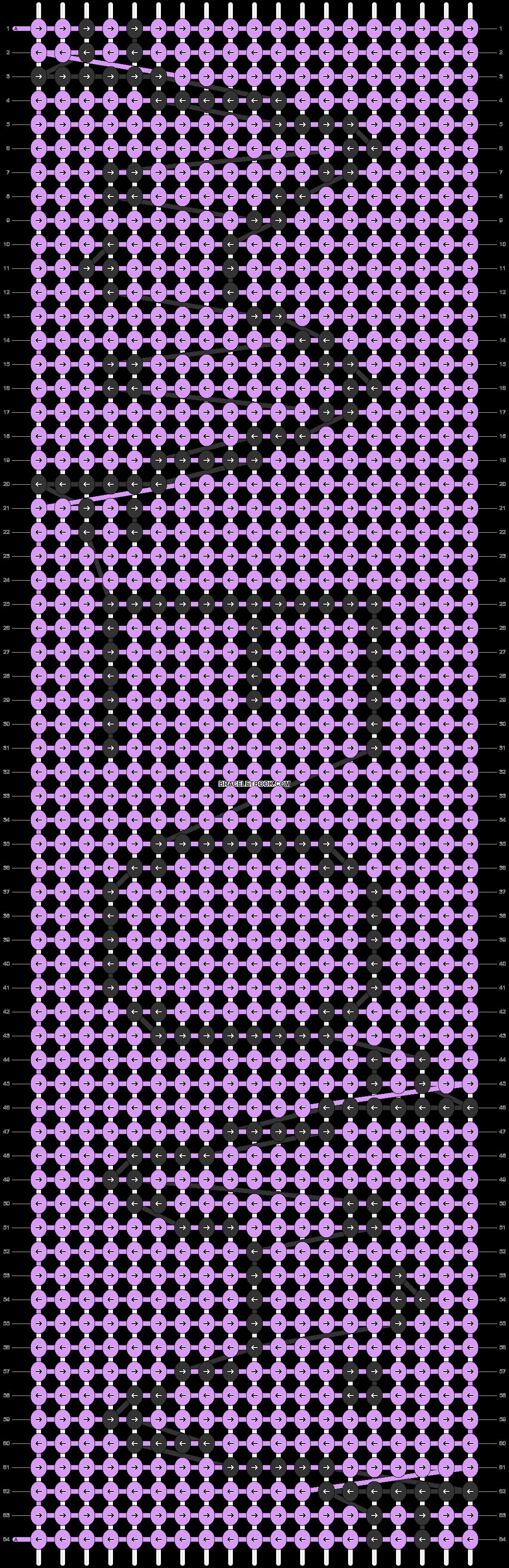 Alpha pattern #22906 variation #12644 pattern