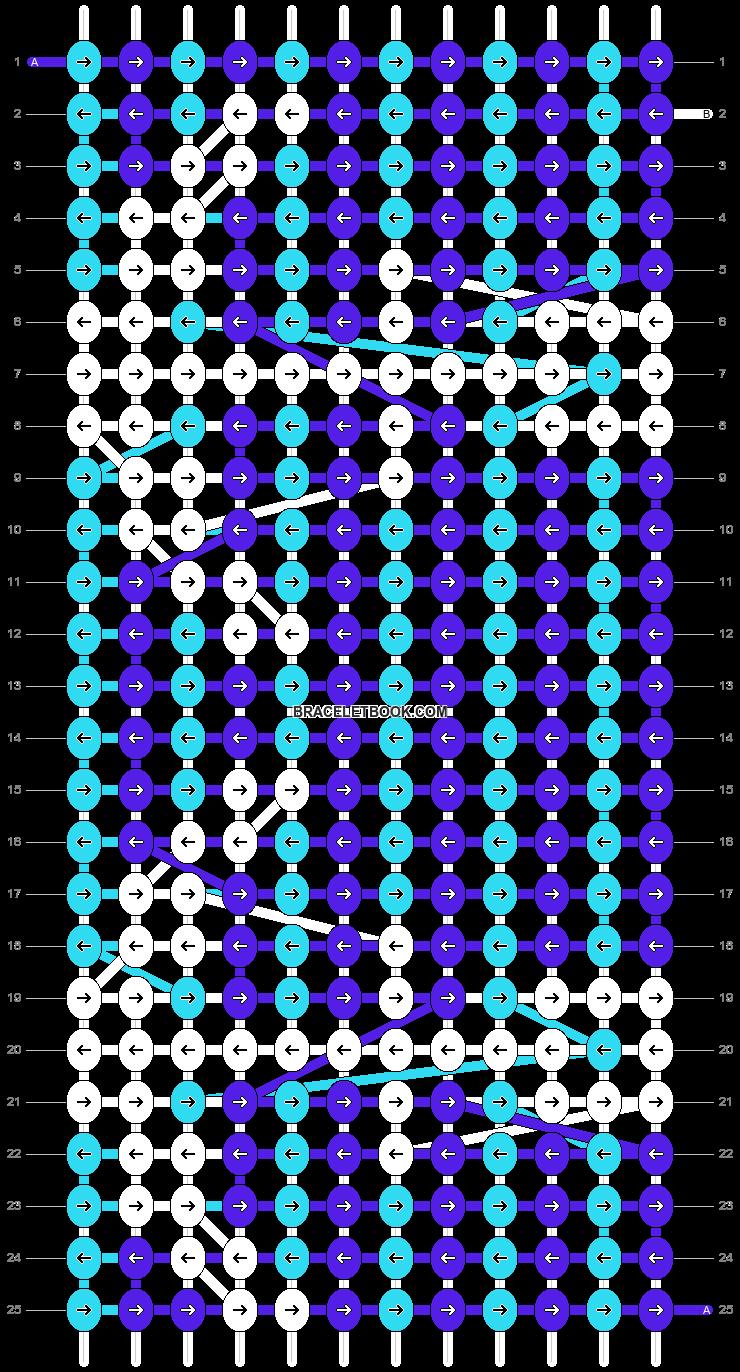 Alpha pattern #9538 variation #12655 pattern