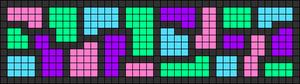 Alpha pattern #26067 variation #12773