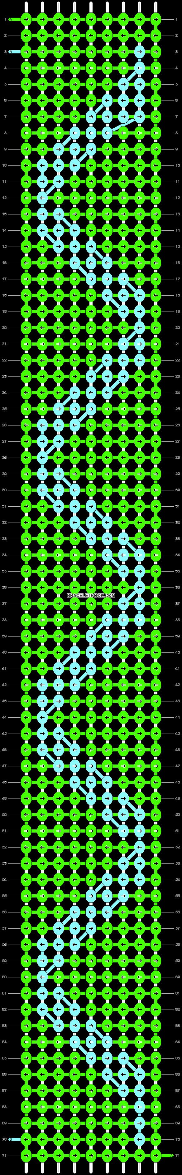 Alpha pattern #26900 variation #13108 pattern