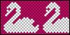 Normal pattern #17110 variation #13169