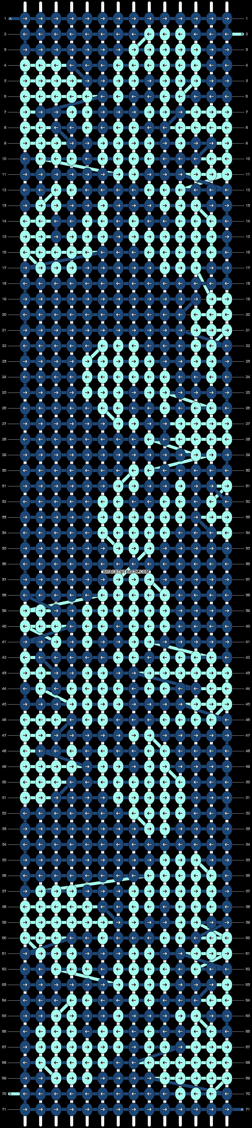Alpha pattern #4847 variation #13299 pattern