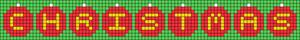 Alpha pattern #27812 variation #13458