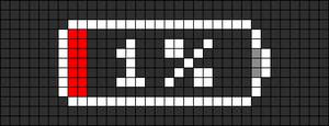 Alpha pattern #28006 variation #13867
