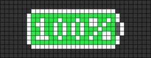 Alpha pattern #28007 variation #13891