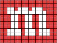 Alpha pattern #286 variation #13957
