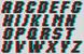 Alpha pattern #26781 variation #14271