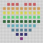Alpha pattern #4251 variation #14507