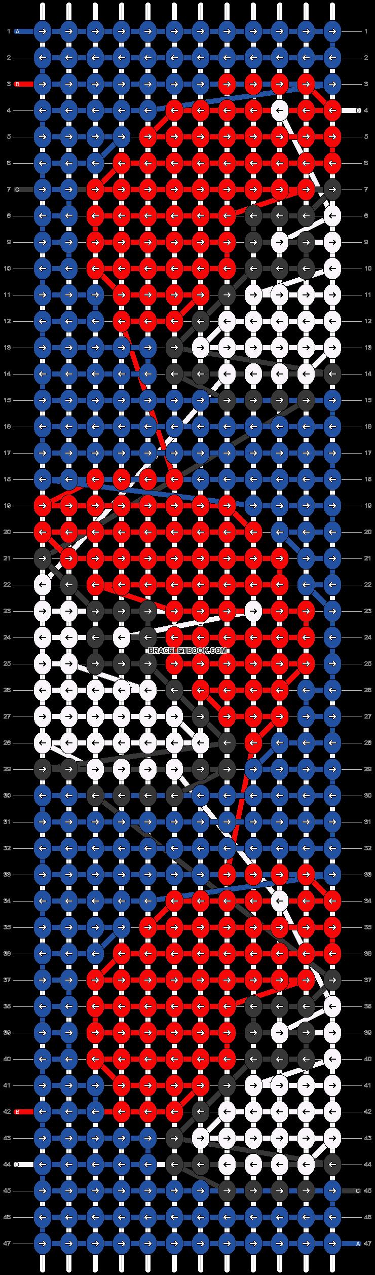 Alpha pattern #16837 variation #14849 pattern