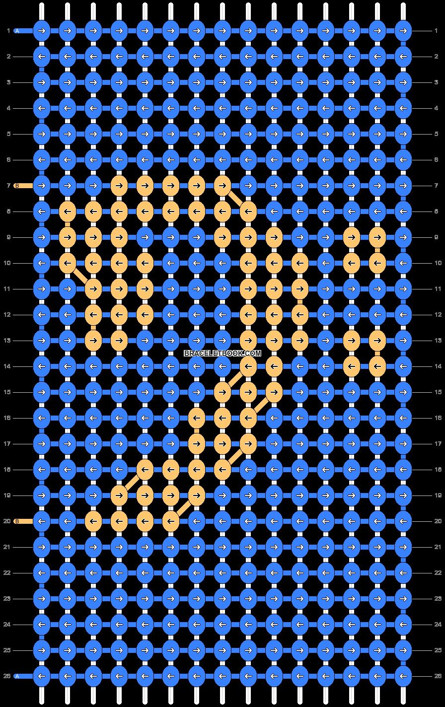 Alpha pattern #18169 variation #14903 pattern