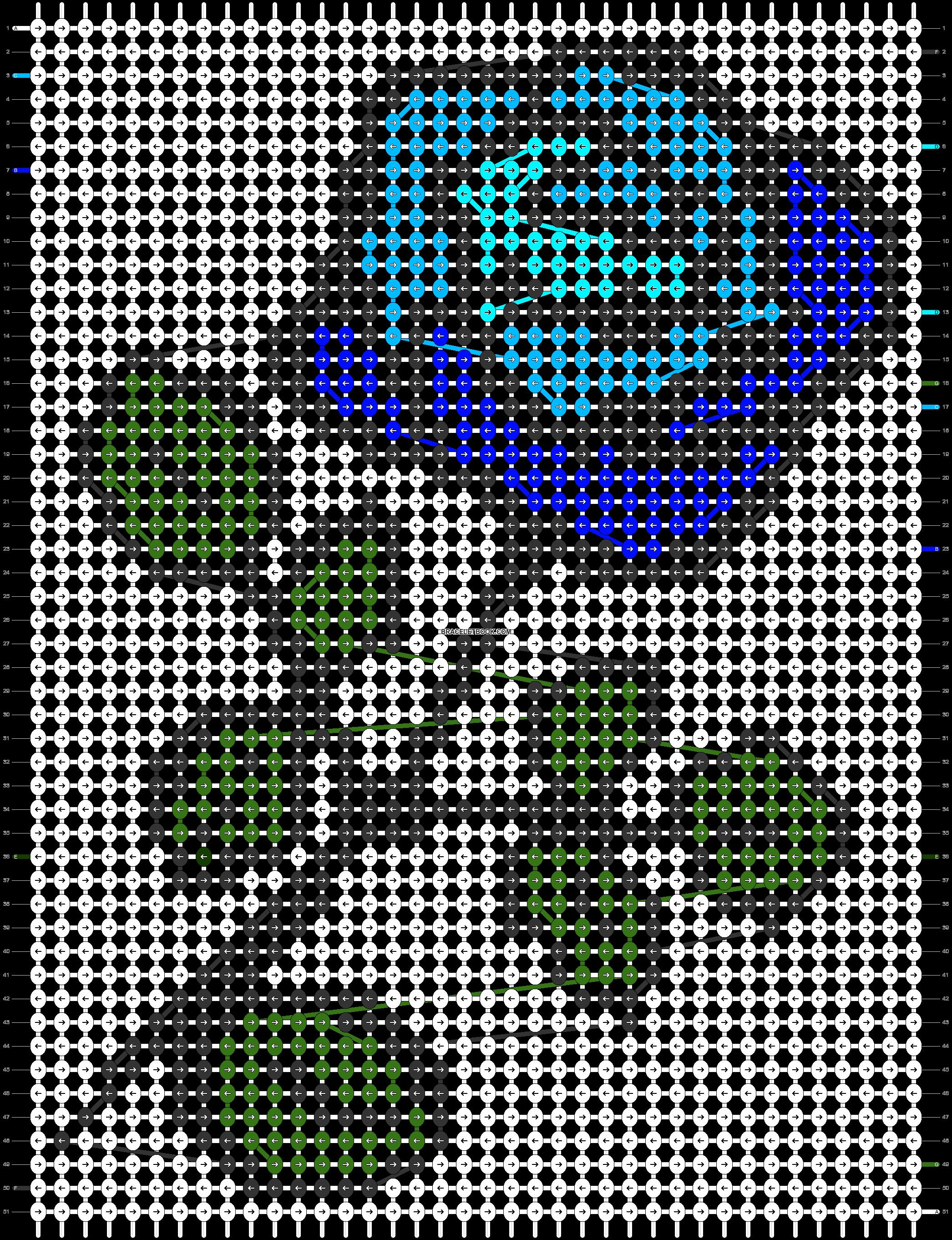 Alpha pattern #28258 variation #14909 pattern