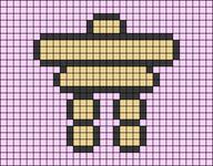 Alpha pattern #27933 variation #14977