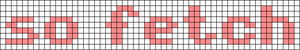 Alpha pattern #5211 variation #16235