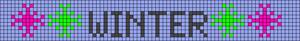 Alpha pattern #28894 variation #16373
