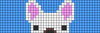 Alpha pattern #22880 variation #16565