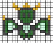 Alpha pattern #25214 variation #16758
