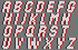 Alpha pattern #26781 variation #17439
