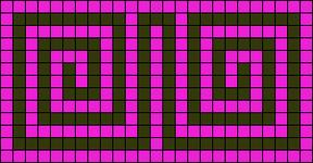 Alpha pattern #6616 variation #17824
