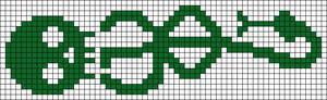 Alpha pattern #22849 variation #17985