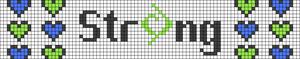 Alpha pattern #29828 variation #18066