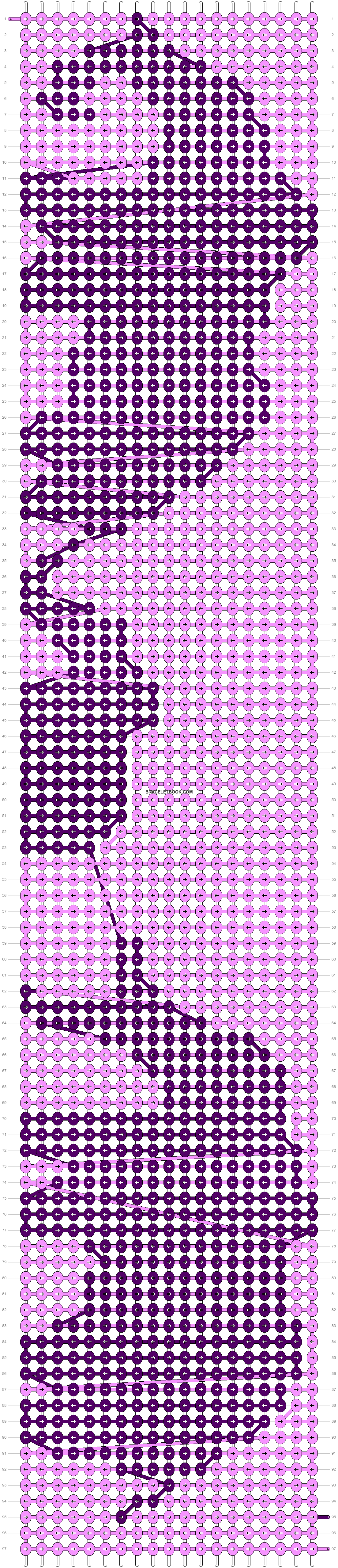 Alpha pattern #13611 variation #18407 pattern
