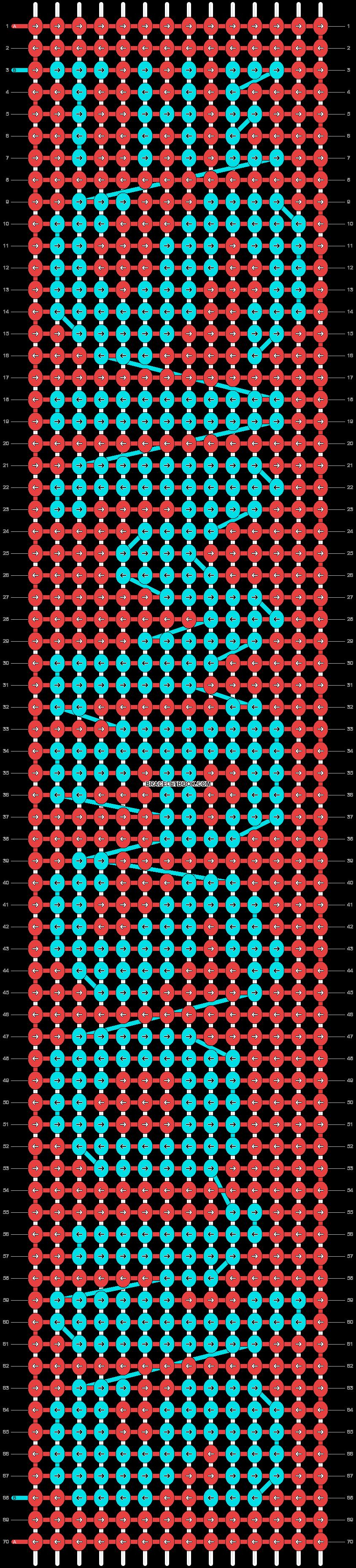 Alpha pattern #12712 variation #18937 pattern