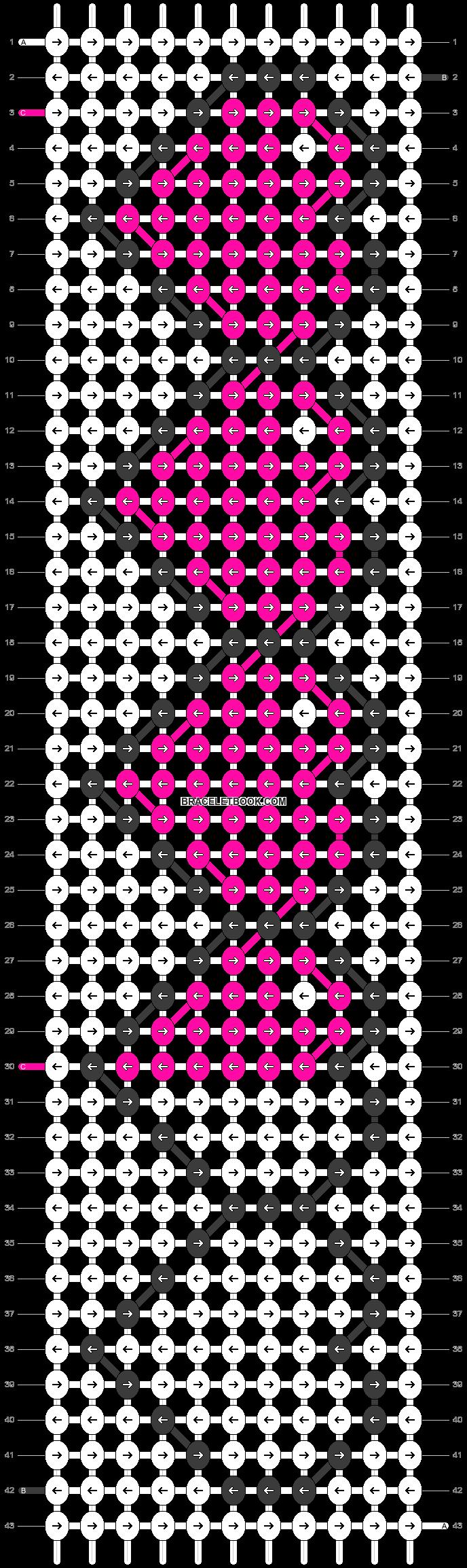 Alpha pattern #13244 variation #19022 pattern