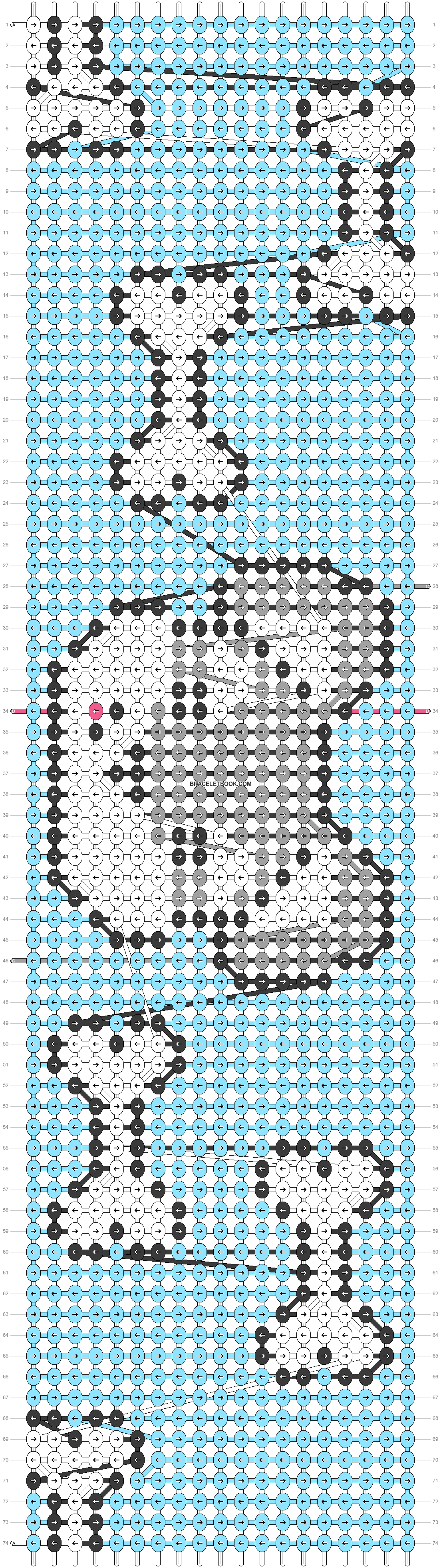 Alpha pattern #25252 variation #19063 pattern