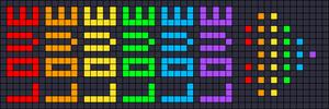 Alpha pattern #17028 variation #19101