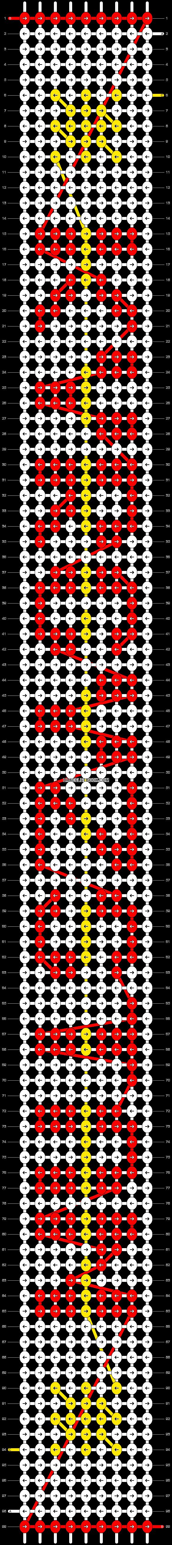 Alpha pattern #30555 variation #19898 pattern