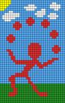 Alpha pattern #13647 variation #19954