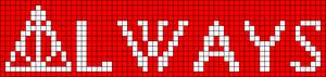 Alpha pattern #17763 variation #20075