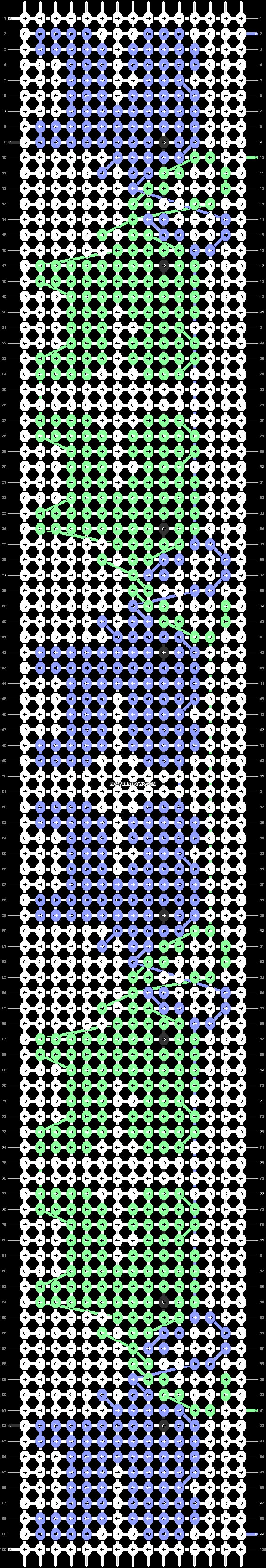 Alpha pattern #11456 variation #20092 pattern