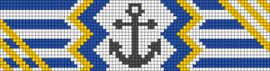 Alpha pattern #11694 variation #20639