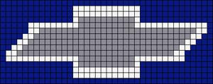 Alpha pattern #8890 variation #21332