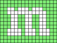 Alpha pattern #286 variation #21531