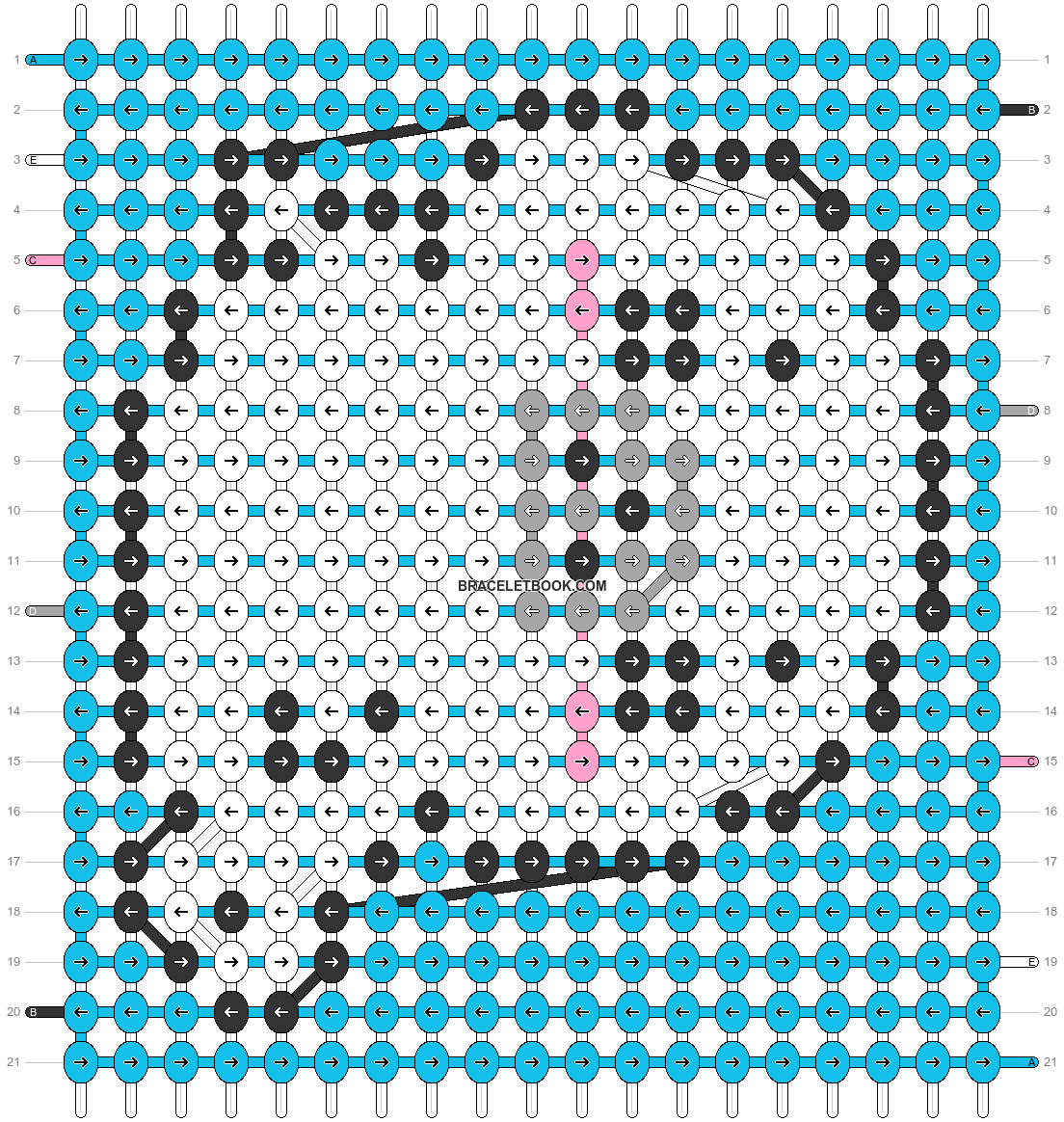 Alpha pattern #32540 variation #22150 pattern