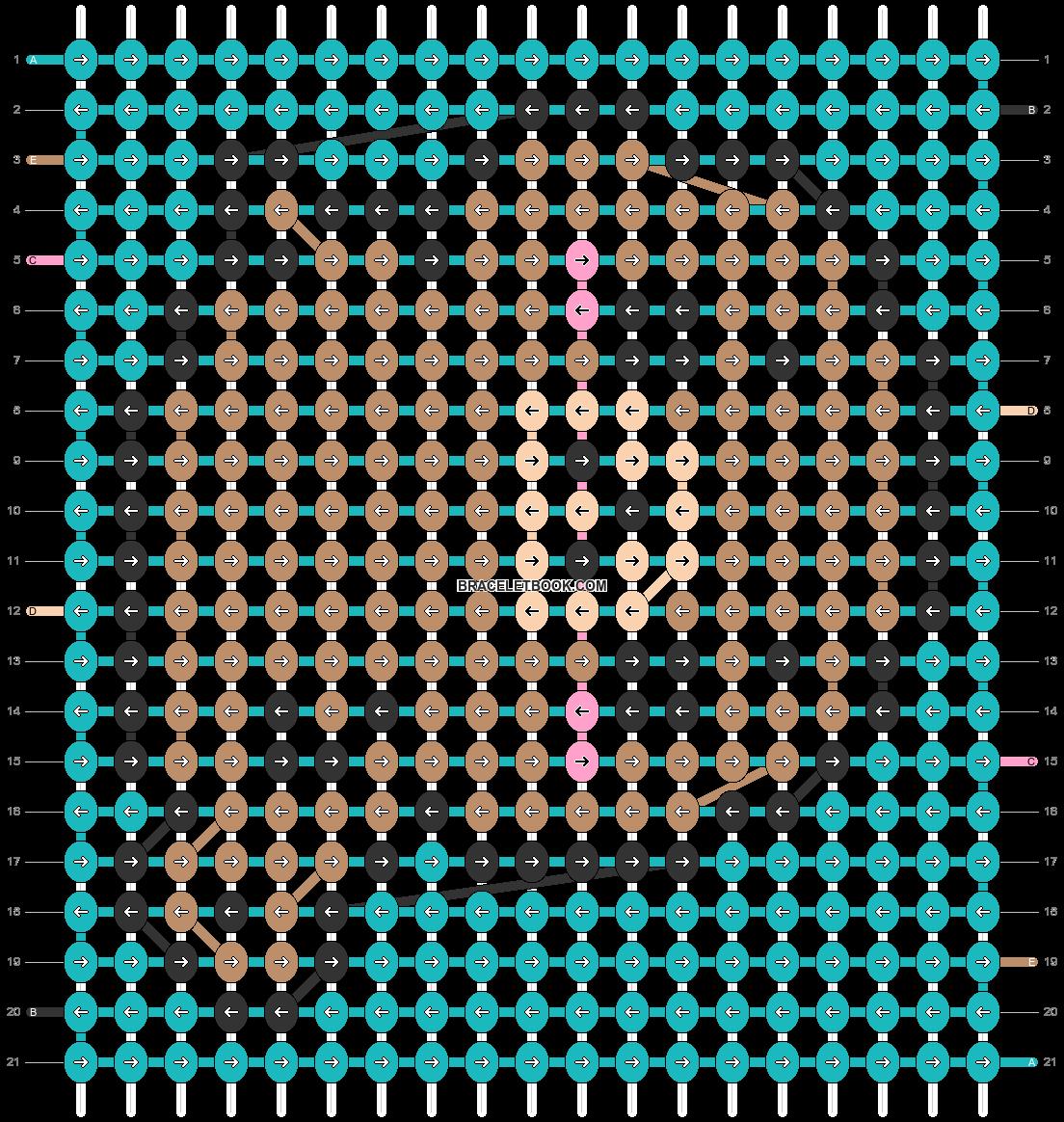 Alpha pattern #32540 variation #22153 pattern