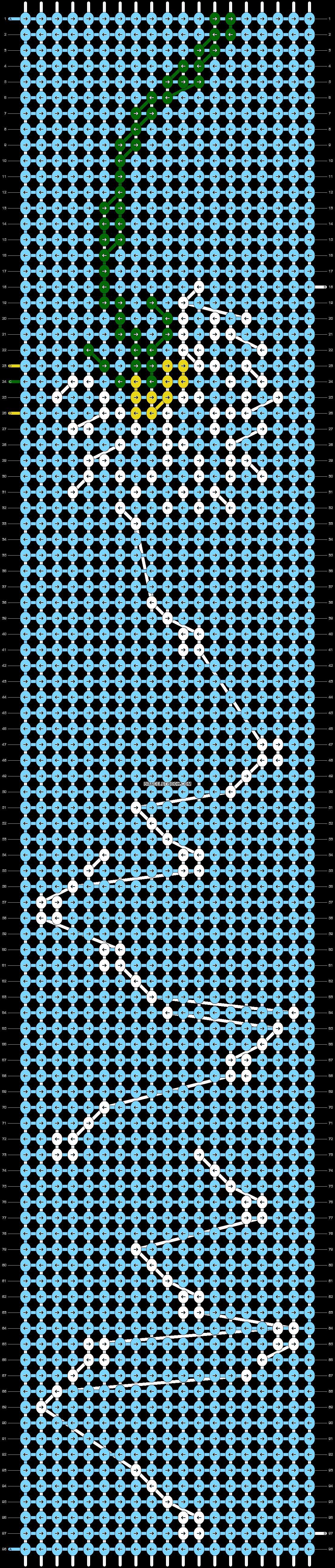 Alpha pattern #21837 variation #22286 pattern