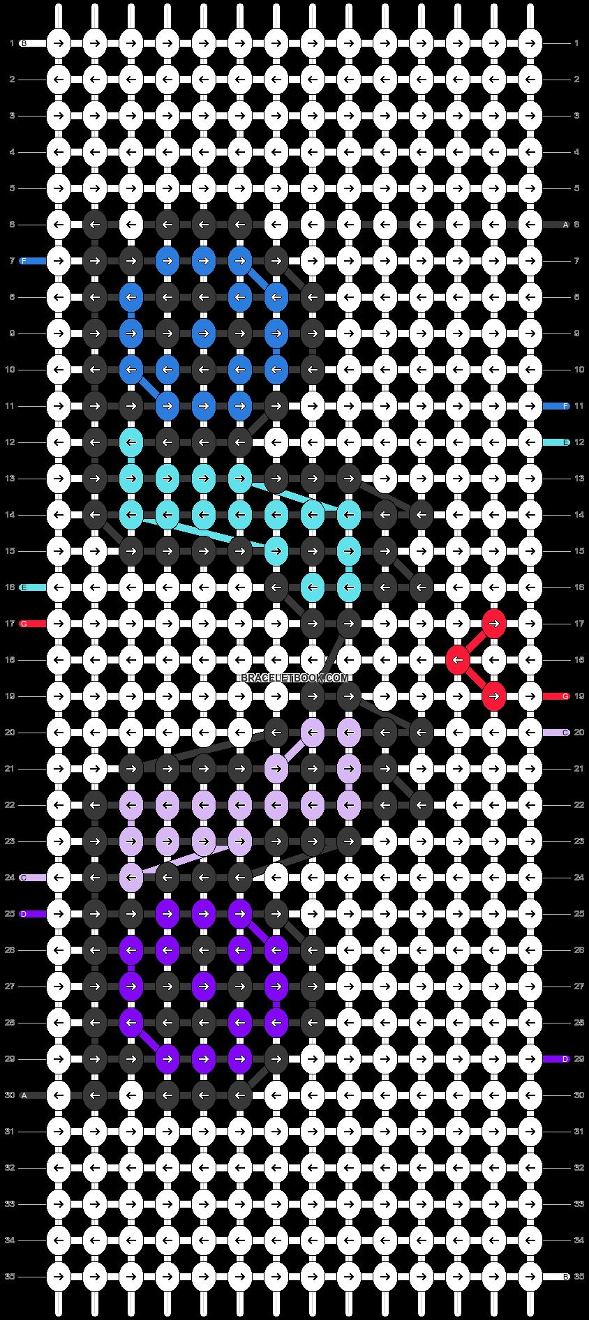 Alpha pattern #27976 variation #23432 pattern