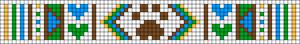 Alpha pattern #17938 variation #23504
