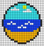 Alpha pattern #27374 variation #24237