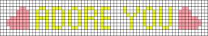 Alpha pattern #30917 variation #24584