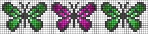 Alpha pattern #23138 variation #24666