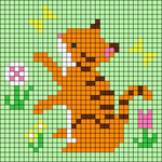 Alpha pattern #31398 variation #24936